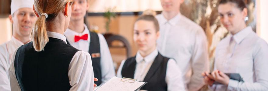 Les métiers de l'hôtellerie