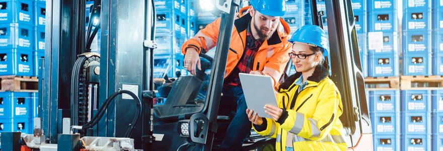 Sécurité au travail et manutention